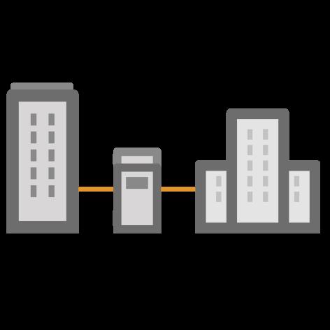 Edifici pubblici interconnessi